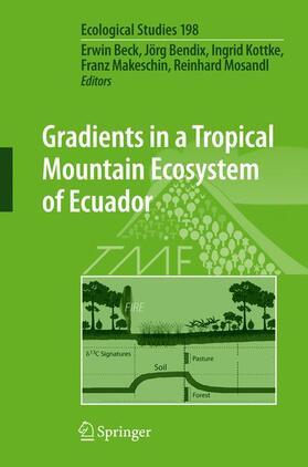 Beck / Bendix / Kottke | Gradients in a Tropical Mountain Ecosystem of Ecuador | Buch | sack.de