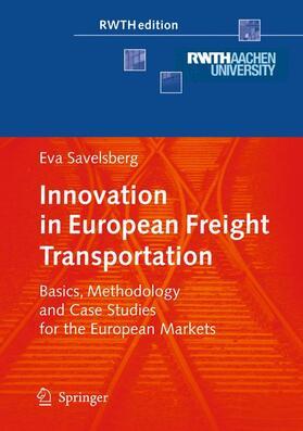 Savelsberg   Innovation in European Freight Transportation   Buch   sack.de