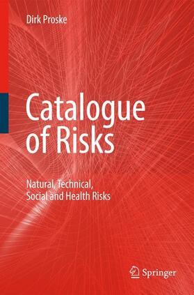 Proske | Catalogue of Risks | Buch | sack.de