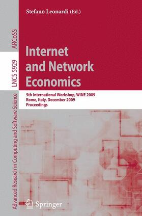 Leonardi   Internet and Network Economics   Buch   sack.de