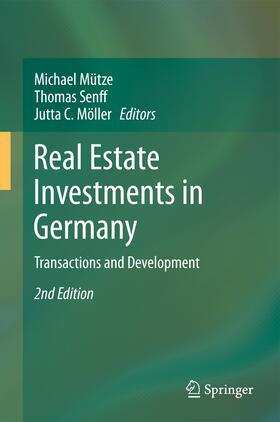 Mütze / Senff / Möller | Real Estate Investments in Germany | Buch | sack.de