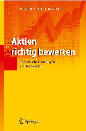 Hasler   Aktien richtig bewerten   Buch   sack.de