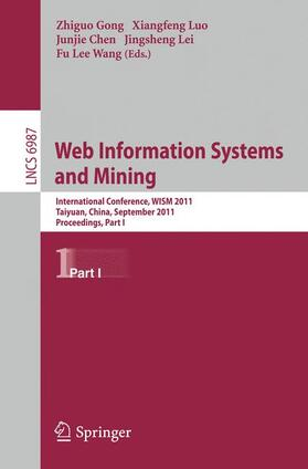 Gong / Luo / Chen | Web Information Systems and Mining | Buch | sack.de