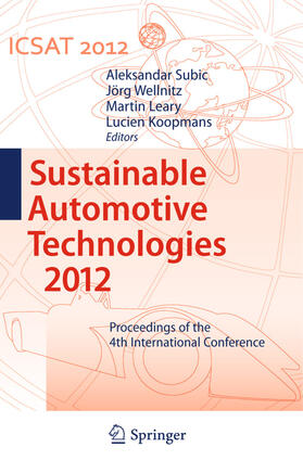 Subic / Wellnitz / Leary | Sustainable Automotive Technologies 2012 | Buch | sack.de