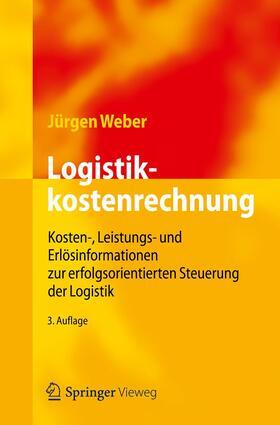 Weber | Logistikkostenrechnung | Buch | sack.de
