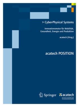 acatech | Cyber-Physical Systems | Buch | sack.de