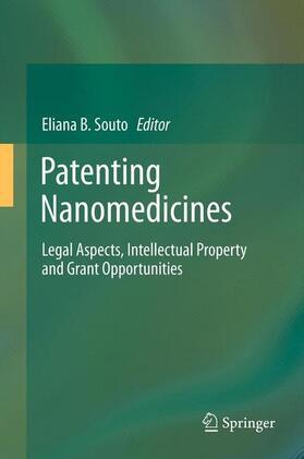 Souto | Patenting Nanomedicines | Buch | sack.de