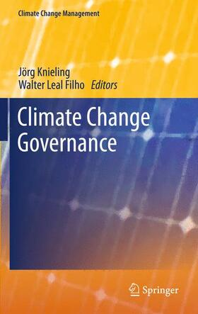 Knieling / Leal Filho | Climate Change Governance | Buch