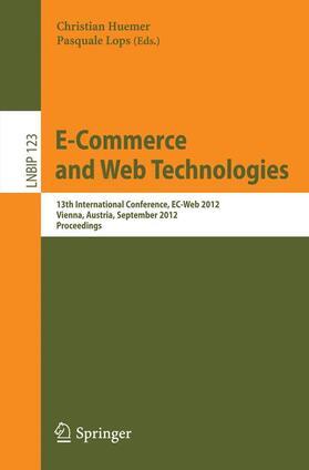Huemer / Lops | E-Commerce and Web Technologies | Buch