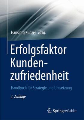 Künzel   Erfolgsfaktor Kundenzufriedenheit   Buch   sack.de
