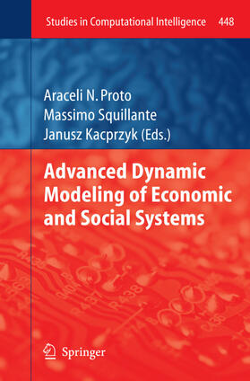 Proto / Squillante / Kacprzyk | Advanced Dynamic Modeling of Economic and Social Systems | Buch | sack.de