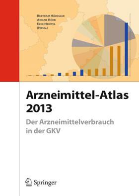 Häussler / Höer / Hempel | Arzneimittel-Atlas 2013 | Buch | sack.de