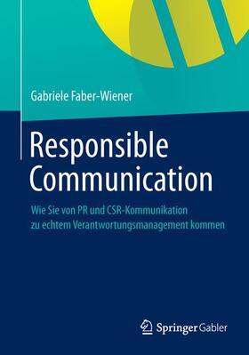 Faber-Wiener | Responsible Communication | Buch | sack.de