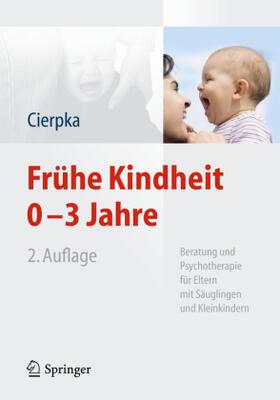 Cierpka   Frühe Kindheit 0-3 Jahre   Buch   sack.de