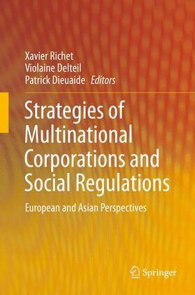 Richet / Delteil / Dieuaide   Strategies of Multinational Corporations and Social Regulations   Buch   sack.de