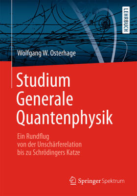 Osterhage   Studium Generale Quantenphysik   Buch   sack.de