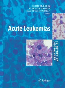 Faderl / Kantarjian   Hematologic Malignancies: Acute Leukemias   Buch   sack.de