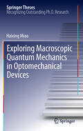 Miao |  Exploring Macroscopic Quantum Mechanics in Optomechanical Devices | Buch |  Sack Fachmedien