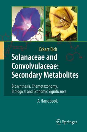 Eich   Solanaceae and Convolvulaceae: Secondary Metabolites   Buch   sack.de