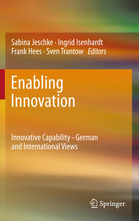 Jeschke / Isenhardt / Hees | Enabling Innovation | Buch | sack.de
