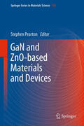 Pearton |  GaN and ZnO-based Materials and Devices | Buch |  Sack Fachmedien