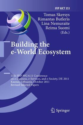 Skersys / Suomi / Nemuraite | Building the e-World Ecosystem | Buch | sack.de