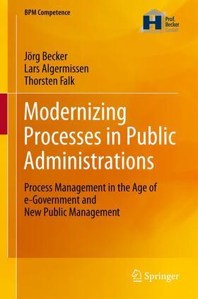 Becker / Falk / Algermissen   Modernizing Processes in Public Administrations   Buch   sack.de