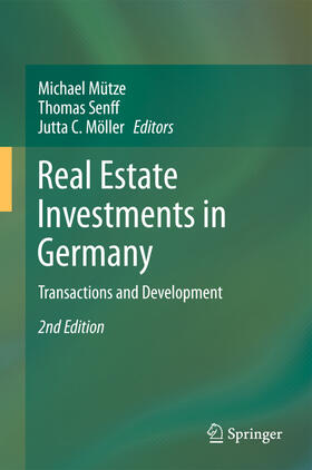 Möller / Mütze / Senff | Real Estate Investments in Germany | Buch | sack.de