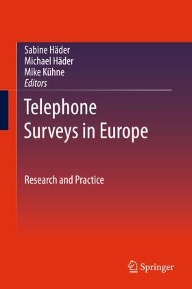 Häder / Häder / Kühne | Telephone Surveys in Europe | Buch | sack.de
