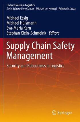Hülsmann / Kern / Klein-Schmeink | Supply Chain Safety Management | Buch | sack.de