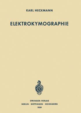 Heckmann   Elektrokymographie   Buch   sack.de