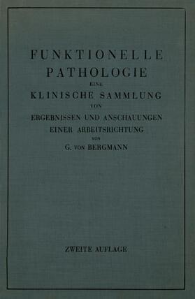 Bergmann | Funktionelle Pathologie | Buch | sack.de