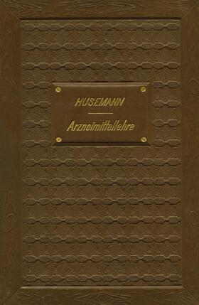 Husemann   Handbuch der Arzneimittellehre   Buch   sack.de