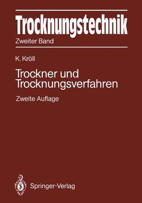 Kröll | Trocknungstechnik Zweiter Band | Buch | sack.de
