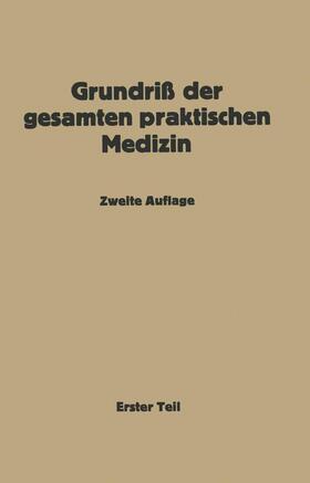 Müller / Bittorf / Bergmann | Grundriß der gesamten praktischen Medizin | Buch | sack.de
