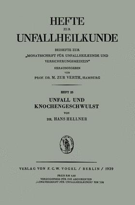 Hellner | Unfall und Knochengeschwulst | Buch | sack.de