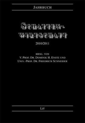 Enste / Schneider   Jahrbuch Schattenwirtschaft 2010/2011   Buch   sack.de