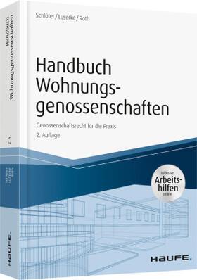 Schlüter / Luserke / Roth | Handbuch Wohnungsgenossenschaften | Buch | sack.de