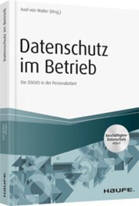 Walter / Walter   Datenschutz im Betrieb   Buch   sack.de