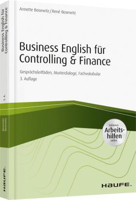 Bosewitz / Bosewitz   Business English für Controlling & Finance   Buch   sack.de