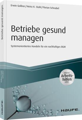 Gollner / Stahl / Schnabel | Betriebe gesund managen - inkl. Arbeitshilfen online | Buch | sack.de