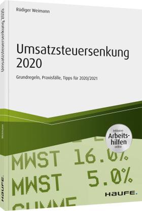 Weimann   Umsatzsteuersenkung 2020   Buch   sack.de