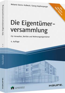 Sterns-Kolbeck / Hopfensperger | Die Eigentümerversammlung | Buch | sack.de