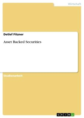 Asset Backed Securities | Buch | sack.de