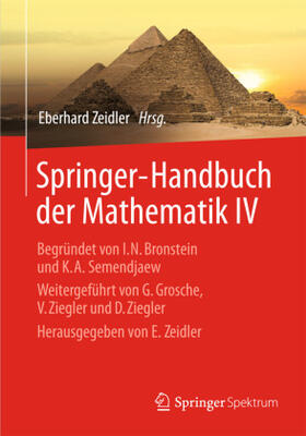 Zeidler | Springer-Handbuch der Mathematik IV | Buch | sack.de