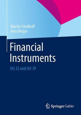 Friedhoff / Berger   Financial Instruments   Buch   sack.de