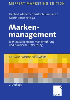 Meffert / Burmann / Koers | Markenmanagement | Buch | sack.de