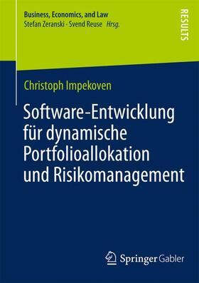 Impekoven | Software-Entwicklung für dynamische Portfolioallokation und Risikomanagement | Buch | sack.de
