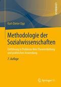 Opp |  Methodologie der Sozialwissenschaften | Buch |  Sack Fachmedien