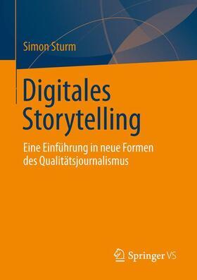 Sturm | Digitales Storytelling | Buch | sack.de